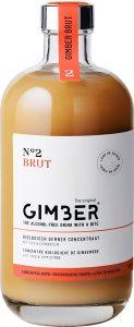 Gimber Brut - biologische gemberdrank - alcoholvrij - 500 ml