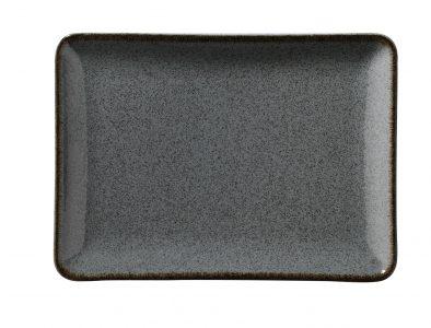 Kitchen Trend - Ocean rechthoekige schaal - petrol - 18 x 13 cm