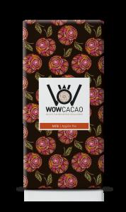 WOW Cacao - chocoladereep melk - applepie