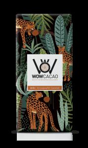 WOW Cacao - chocoladereep melk - stroopwafel caramel