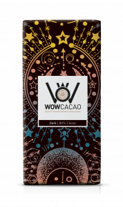WOW Cacao - chocoladereep puur - 80% cacao