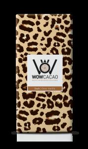 WOW Cacao - chocoladereep puur - Oreo vanilla